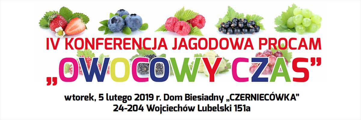 IV Konferencja Jagodowa Procam